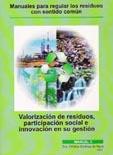 Book Cover: Manual 3  Valorización de residuos, participación social e innovación en su gestión