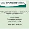 """Participación en Webinar """"Los residuos en México en tiempos de COVID-19"""""""